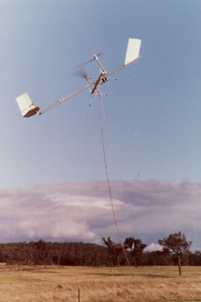 Prototype flying